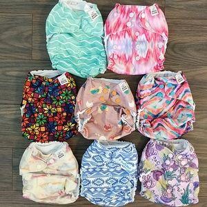 Mama Koala set of 8 pocket diapers